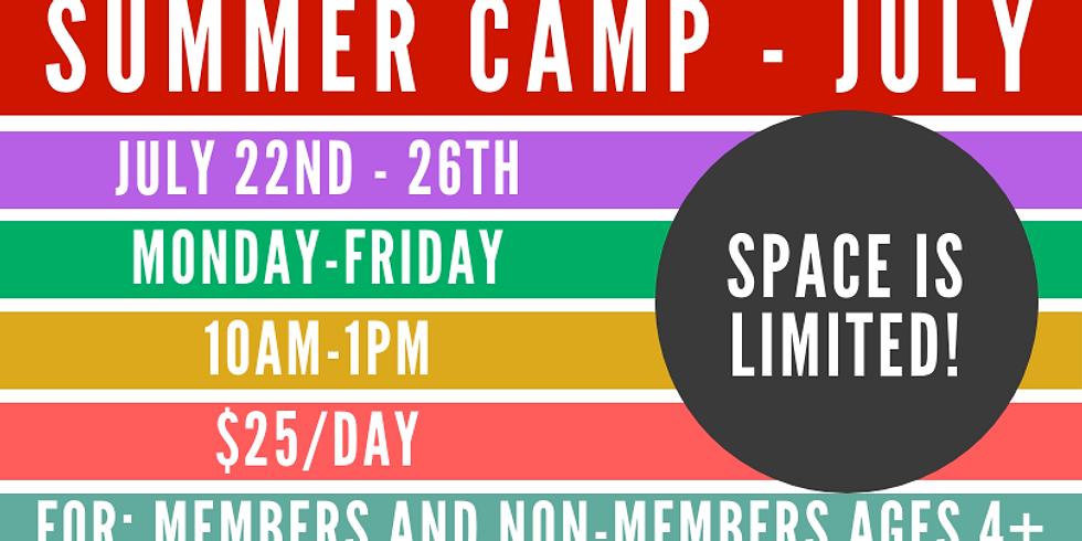 Summer Camp - JULY