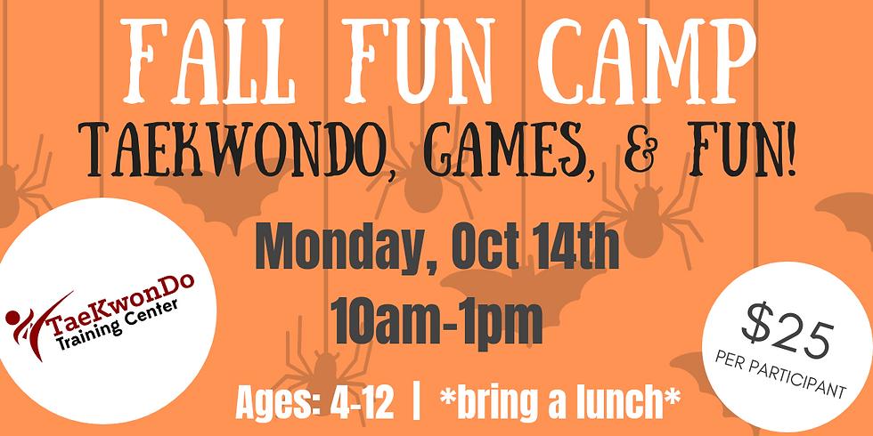 Fall Fun Camp!