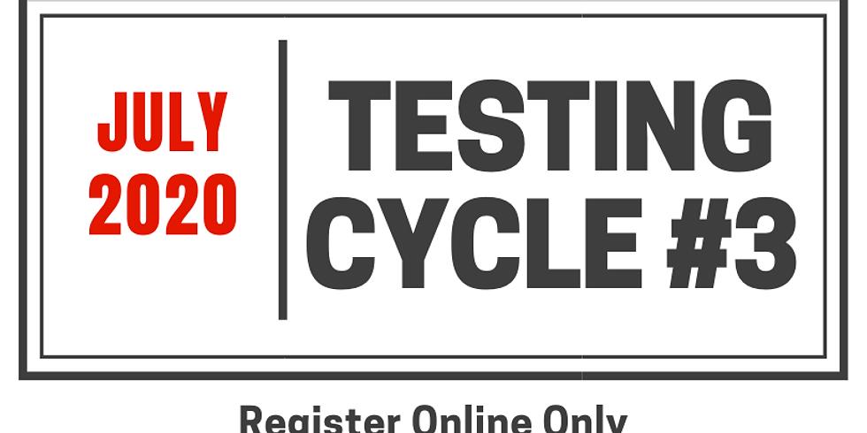 Testing Cycle #3.20.2