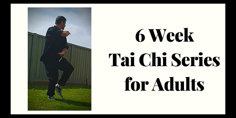 Tai Chi (6 week series for Adults)