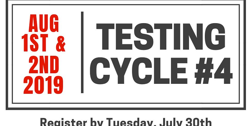 Testing Cycle #4.19