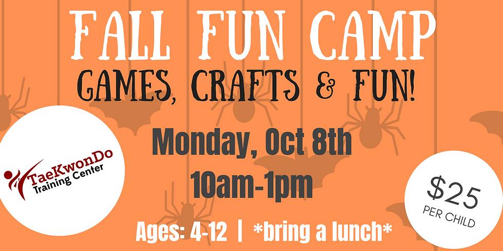 Fall Fun Camp! - $25