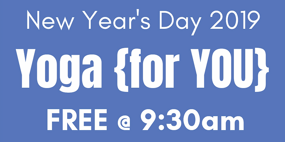 New Years Day - Yoga Flow