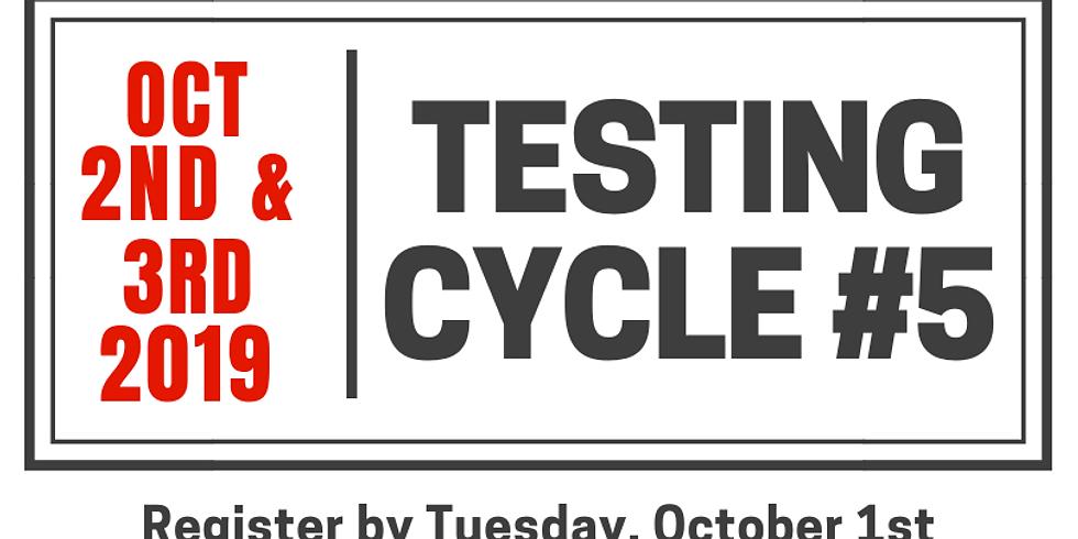 Testing Cycle #5.19