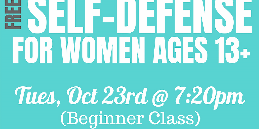 Women's Self-Defense Class - FREE