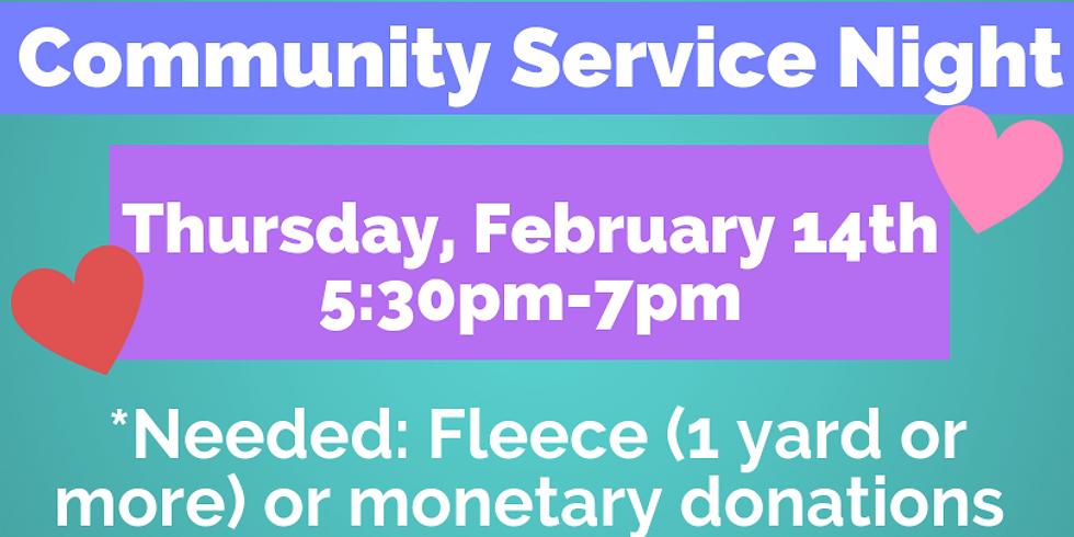 Community Service Night
