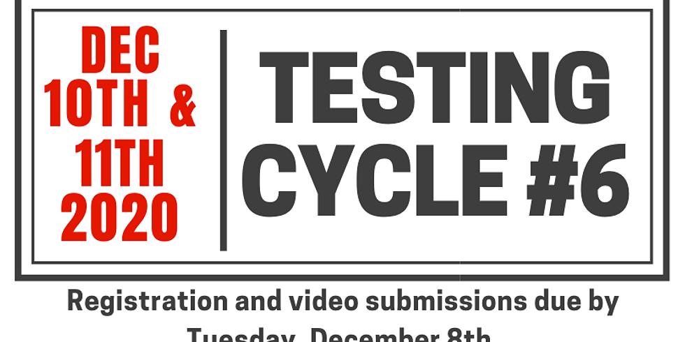 Testing Cycle #6.20.2