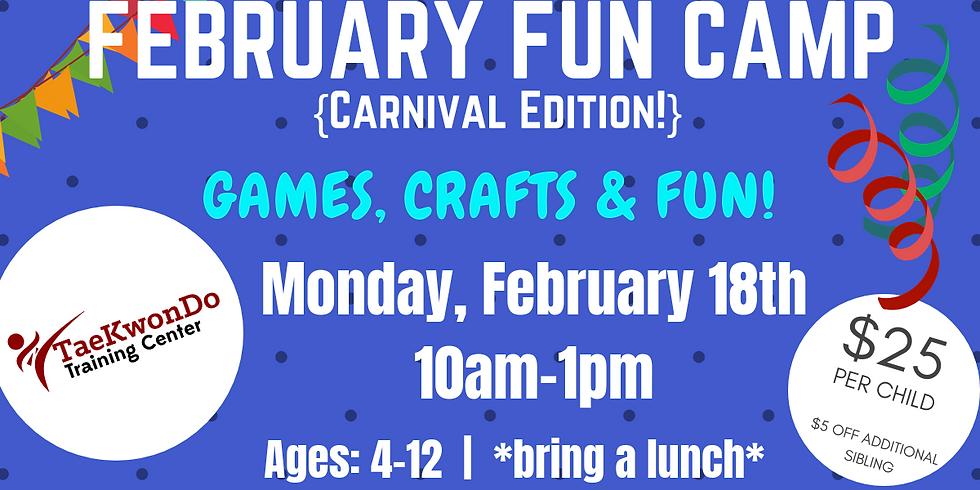 February Fun Camp!