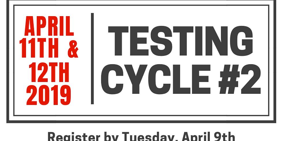 Testing Cycle #2.19