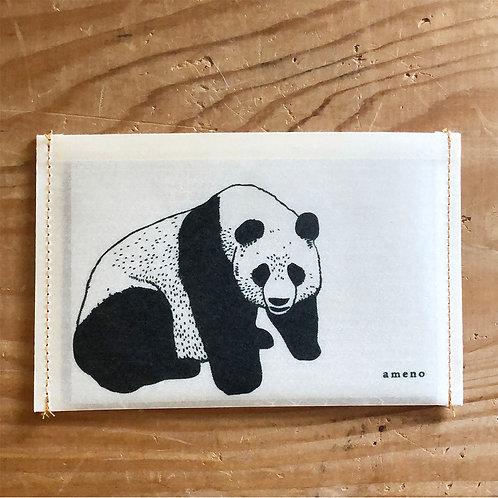 【 パンダの通帳ケース 】
