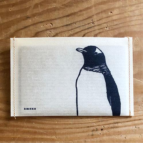 【 ペンギンの通帳ケース 】