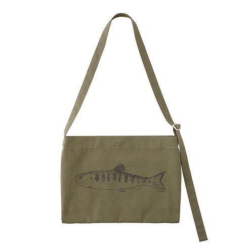 Canvas musette bag【キャンバスミュゼットバッグ】