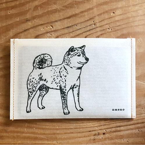 【 柴犬の通帳ケース 】