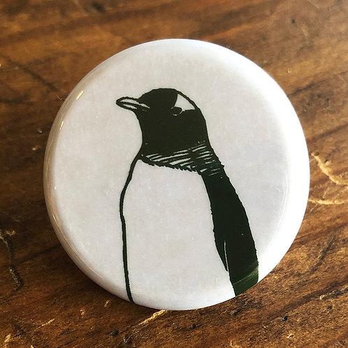 【 ペンギンの缶バッジ 】