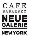 Cafe Sabarsky Neue Galerie Cake Box logo
