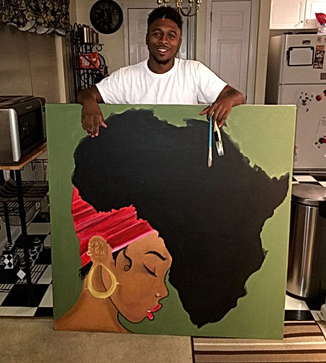 Earth Motherland Painting