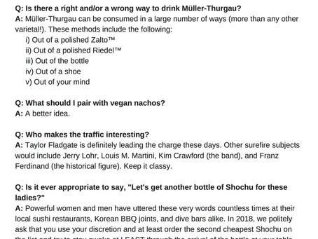 TBT: My Bitchin' Wine Blog