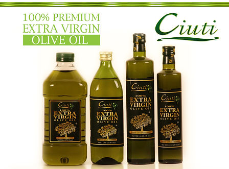 Ciuti 100% Premium Extra Virgin Olive Oil 1 2 Liter 500 750 ML