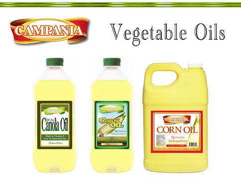Ciuti offers Vegetable Oils - Canola, Corn, Soybean, Sunflower and Rice Bran