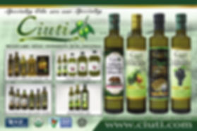Ciuti CGA California Grocers Association Advertisement Ad
