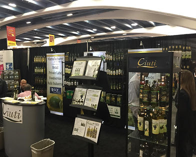 Ciuti International Booth 4840 Specialty Winter Food Fancy Foods Show 2016