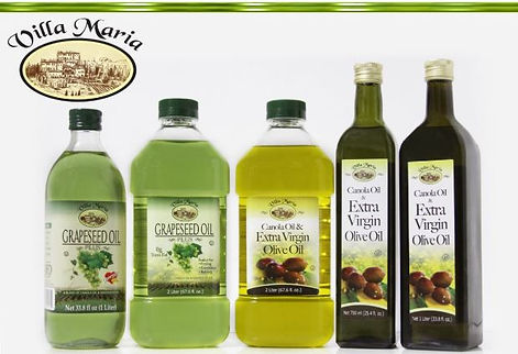 Ciuti Villa Maria Grapeseed Blend and Extra Virgin Olive Oil Blends