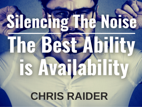 Silencing The Noise