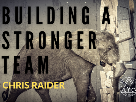 Building a Stronger Team