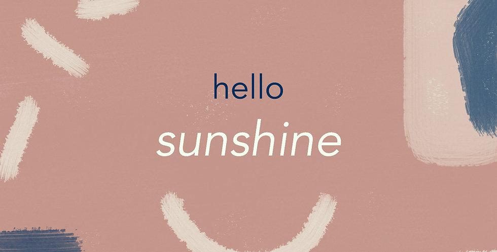 Hello Sunshine E-gift Card
