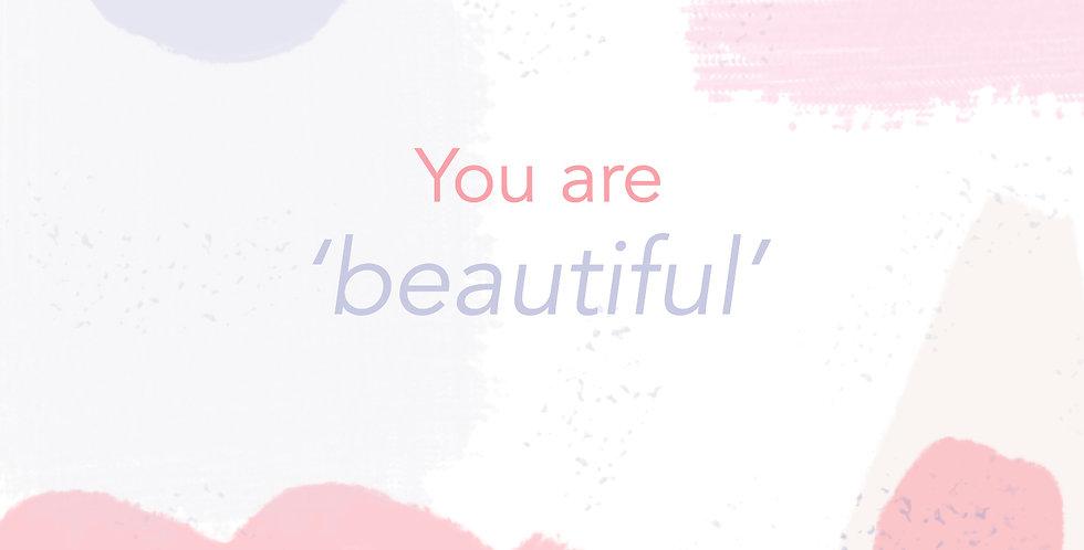 You Are Beautiful E-gift Card