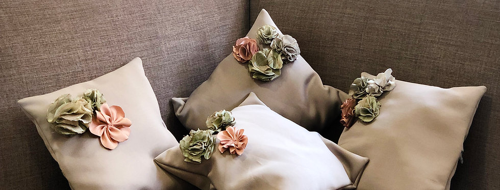 Grey Cushion Cover (Set of 2)