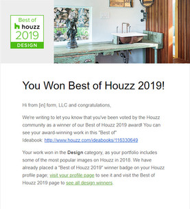 Houzz Award 2019