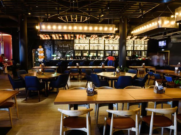 Arbat Beer & Grill Подвесные светильники из металла
