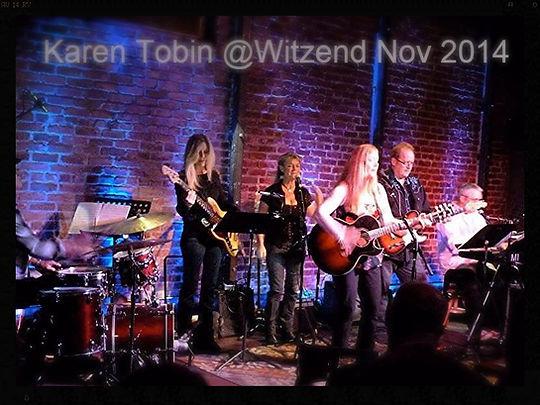 Karen Tobin @ Witzend Venice CA Nov 2014