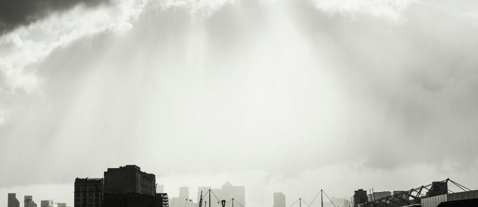 London Excel Skyline