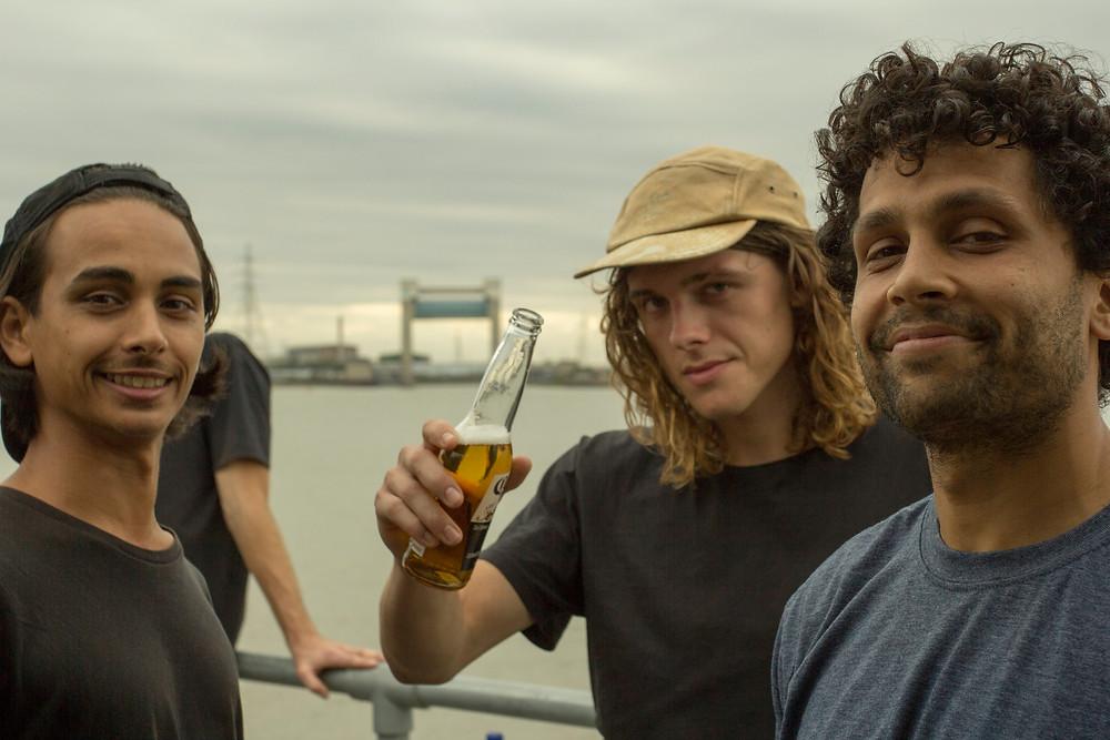 Matt, Joe and Leon