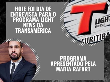 ENTREVISTA A LIGHT FM - TRANSAMÉRICA - IMPACTOS DA PANDEMIA NAS RELAÇÕES TRABALHISTAS
