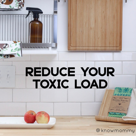Tips to Reduce Your Toxic Load