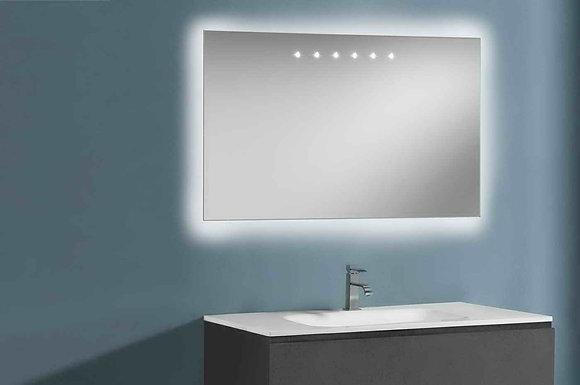 Artelinea espejo con super LED+ led Diffusion
