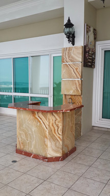 Mueble Bar en Onix