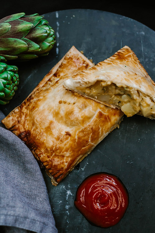 Cheese, Onion & Potato Pasty