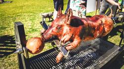 Some Sundays call for a Suckling Pig