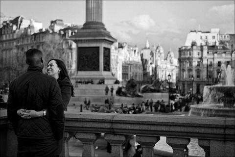 Trafalgar Sqare Londres