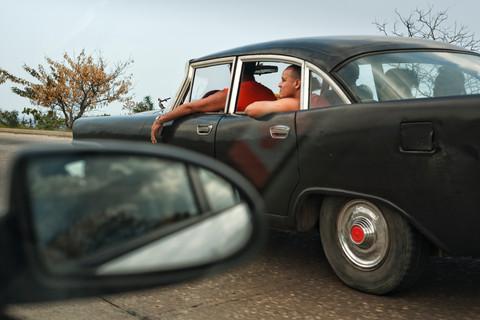 Entre Guanabo et La Havane