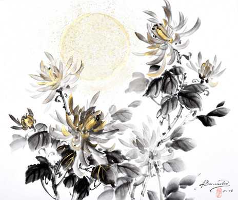 Осень. Хризантема