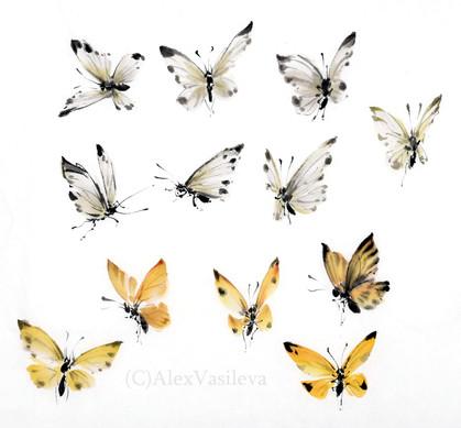 Бабочки в цвете.jpg