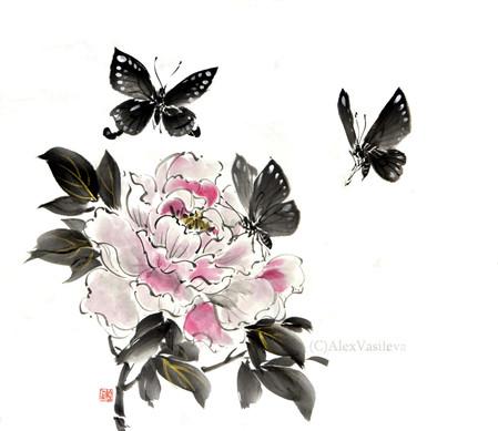 пион и бабочки.jpg
