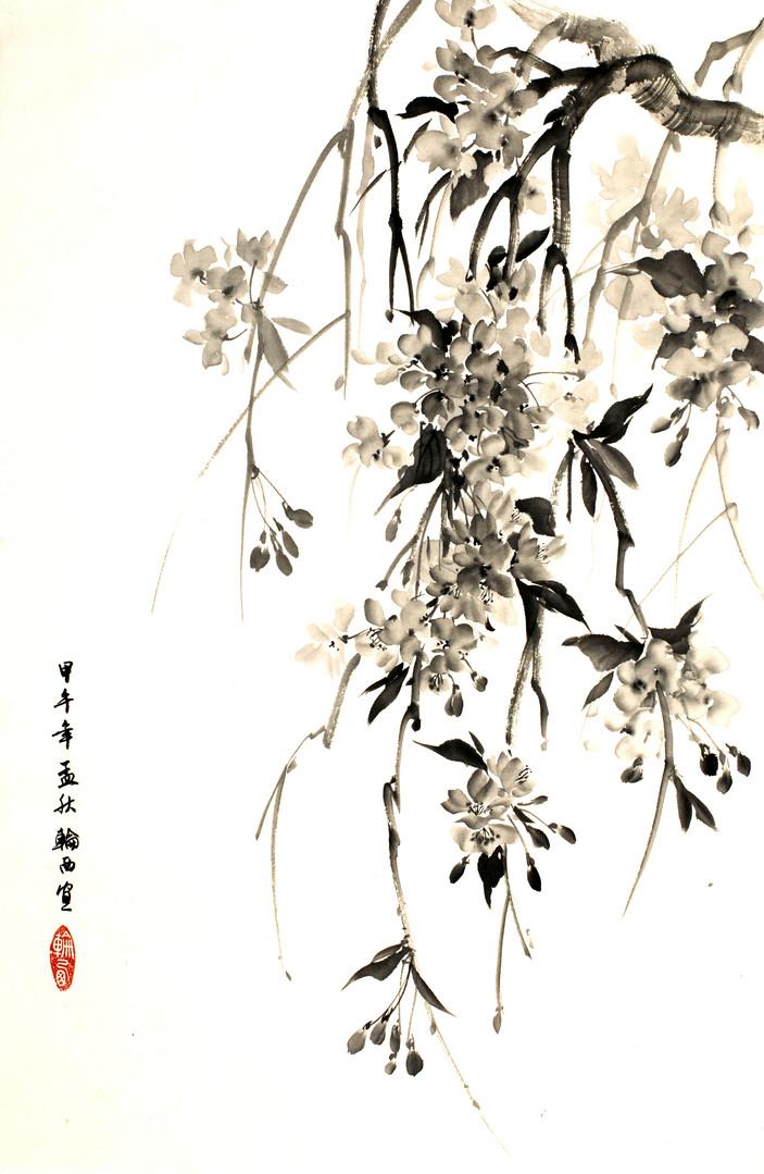 Плакучая сакура