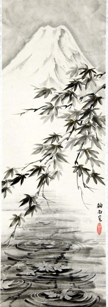 Фудзи осенью, свиток.jpg