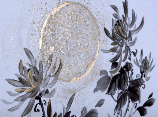 Хризантема, фрагмент. Вечер